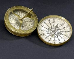 Английский компас 18-го века